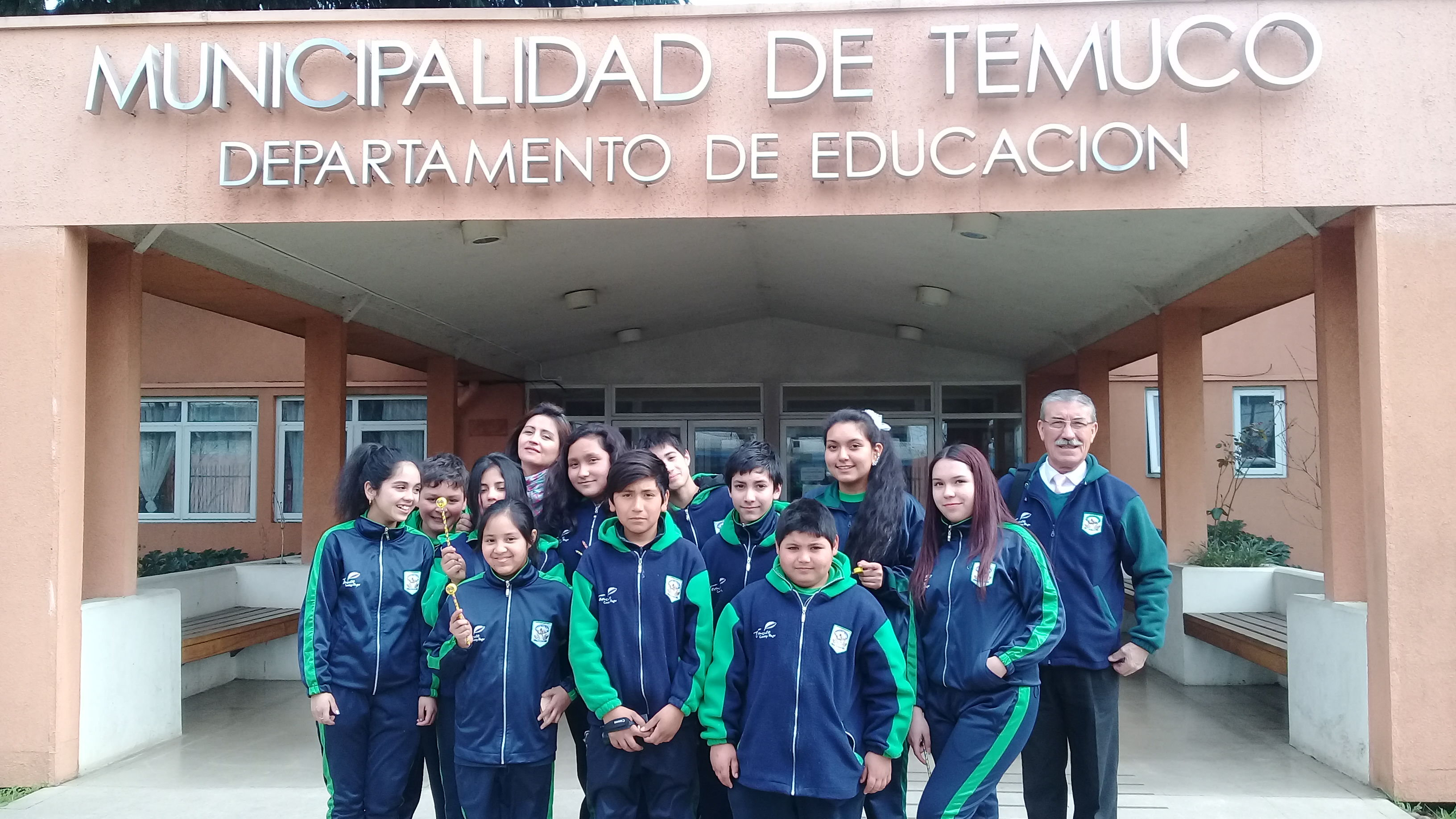 Visita DAEM Temuco - Escuela Villa Alegre